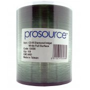 PROSOURCE CD-R DIAMOND INKJET 80MIN