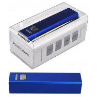 BLUE POWER BANK 2200mAh