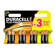 DURACELL AA 5 + 3 PACK